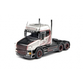 69754 Tekno Scania T6 Highline 6x2 Silver griffin