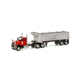 39-1001 CT680 6x4 Red DUMP TRAILER