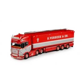65383 Tekno Scania R09 Topline 6x2 S.Verbeek