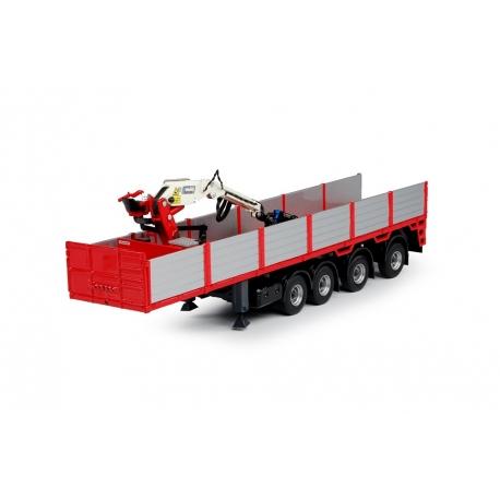 69424 Tekno Steenoplegger rood 4-as