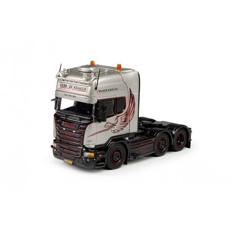 69731 Tekno Scania R13 Topline 6x2 De Kraker