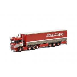 "01-2143-A Scania R13 HL Semi tautliner ""Manutrans"