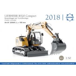 2200/0 Conrad LIEBHERR R920 Compact