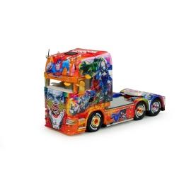 71193 Tekno Scania R13 Top Templeton - Super Heroes