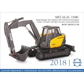 2211/0 Conrad MECALAC 15MC