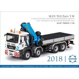 75204 Conrad MAN TGS M 8x4 + PK 530002