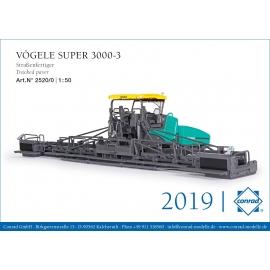 2520/0 Conrad VOGELE Super 3000-3