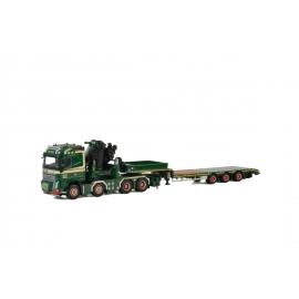 01-2651 WSI VOLVO FH4 GL 8x4 + FASSI 1300 Jib SCT Transport