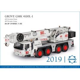 2119/02 Conrad Grove GMK 4100L 1 BKL