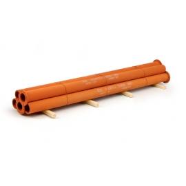 69212 Tekno Les tubes acier rouillé Hardox