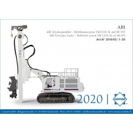 2516/0 Conrad Foreuse ABI TM13/16SL SR30T EUROVIA
