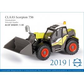 2452/01 Conrad CLAAS Scorpion 756