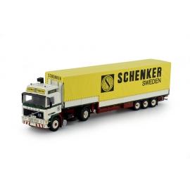 70499 Tekno Volvo F12 GL Lindfors - Schenker