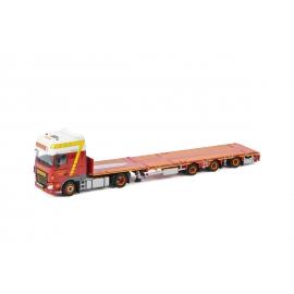 01-3181 WSI DAF XF SSC Mega trailer Swijnenburg
