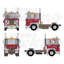 75811 Tekno Scania 141 Piet van Drunen