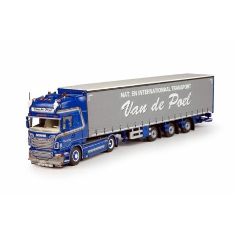 64500 Tekno Scania R09 Topline  Van de Poel