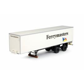 64604 Tekno Semi fourgon  Ferrymasters